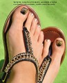 Shellac Pedicure, Rock Star Toes, Glitter Shellac Pedicure Watford, Rickmansworth, Northwood, Amersham