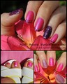 Shellac Tutti Frutti with Nail Art Summer Nail Art Shellac Nail Art